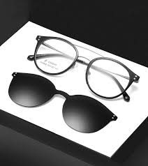 Ralferty Ultra Light Ultem Magnetic Sunglasses Polarized Glasses Clip Shades For Women Polaroid Lens Eyeglasses Z960