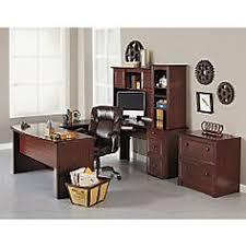 u shaped desk office depot. Mendocino U-Shaped Bow-Front Executive Desk Set | Jerry\u0027s Office Pinterest Set, Desks And Storage Ideas U Shaped Depot D