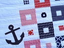 Nautical Mini Quilt Tutorial. Love the quilting lines | sewing ... & Nautical Mini Quilt Tutorial. Love the quilting lines Adamdwight.com