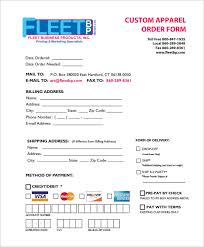 free forms to print order form templates 25 free word excel pdf documents