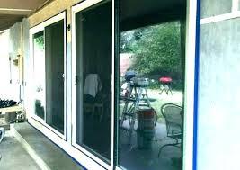 replacement screen sliding door in fix rollers for glass doors r