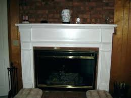 fireplace wood surround en s easy diy wood fireplace surround
