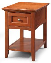 Wooden chair side Different Style Hoot Judkins Whittier Woodend And Sidesolid Alder Mckenzie Media Chair Side Table