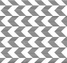 Arrow Pattern Gorgeous Black And White Geometric Seamless Pattern With Stripe And Arrow