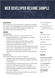 Interestingly enough, it is just like applying perhaps you might want to consider taking a look at these sample resumes available so that you can have a sample guideline or format that you can. Web Developer Resume Sample Writing Tips Resume Genius
