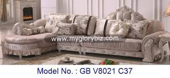 Modern Royal Living Room Sofa Set Corner L Shape FurnitureRoyal