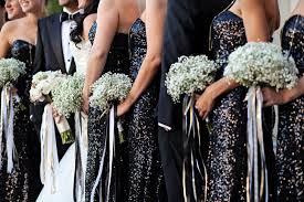 elegant black and white wedding elegant black white gold wedding every last detail