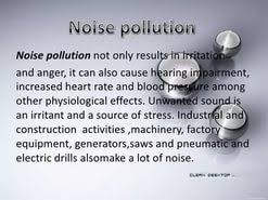 noise pollution essay essay on noise pollution sources effects and control of noise