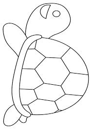 亀 塗り絵 無料 動物カテゴリー ぬりえワールド