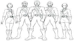 Pink Power Ranger Coloring Pages Color Rangers Ninja Steel Samurai