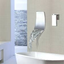 wall mounted waterfall wall mounted waterfall bathroom faucet wall mounted waterfall wall