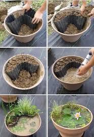 Mini Gartenteich Selber Machen Gardening Pinterest Selber