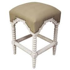 french country bar stools. Perfect Stools Ansel French Country Linen White Wash Bobbin Counter Stool On Bar Stools T