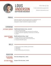 Modern Engineer Resume Professional Software Engineer Resume Templates By Canva