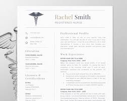 Nursing Resume Template For Word Nurse Cv Template Rn Resume Medical Cv Doctor Resume Nurse Resume Template Instant Download Er Nurse