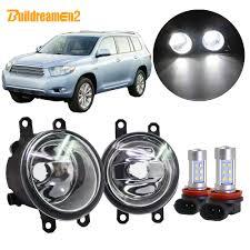 2011 Highlander Fog Light Bulb Us 18 71 28 Off Buildreamen2 Car H11 Fog Light Assembly Lampshade Bulb Drl 12v Accessories For Toyota Highlander 2008 2009 2010 2011 2012 In Car