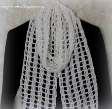 Easy Crochet Scarf Patterns For Beginners Free Gorgeous Lacy Crochet Quick And Easy Crochet Scarf My Free Pattern