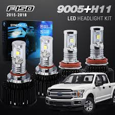 2016 F150 Led Lights Details About H11 9005 Csp Led Headlight Bulb Conversion Kit For Ford F150 2015 18 Hi Low Beam