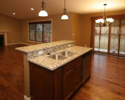 two tiered kitchen islands