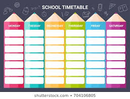 Picture Of Time Table Chart Timetable Images Stock Photos Vectors Shutterstock