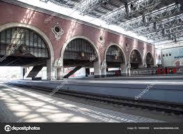 Train Terminal Design Train On Kazansky Railway Terminal Kazansky Vokzal Is