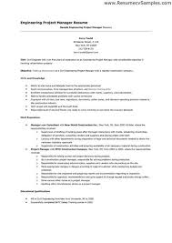 Sample Engineering Manager Resume - sample project manager resume .