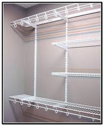home depot closet shelving wire shelves system with drawers