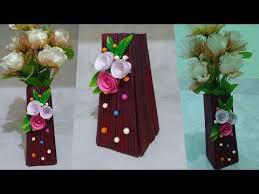 News Paper Flower Vase Pin On Navjot