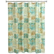 turquoise and brown shower curtain. bacova chevron beach shower curtain in blue/coral turquoise and brown