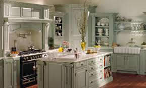 Wonderful Green Country Kitchens Inside Inspiration Decorating