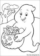 Small Picture Halloween Coloring Page Printables Fun for Halloween