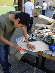 cutting tools and young makers creativity lab making in school battery powered circular saw a battery powered circular saw is a good tool for middle school aged makers the saw must be held two hands