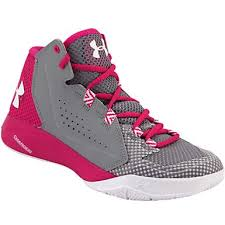 under armour basketball shoes for girls. under armour torch fade basketball shoes - womens pink steel for girls