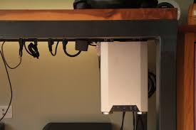 24 custom pc desk mount