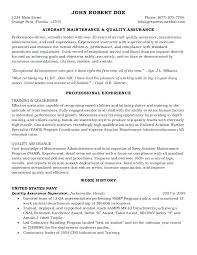 Quality Assurance Analyst Sample Resume