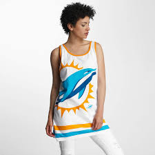 majestic athletic overwear tank tops miami dolphins in white women clearance