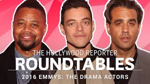 Actors Round Table Thrs Full Drama Actor Roundtable With Rami Malek Cuba Gooding Jr