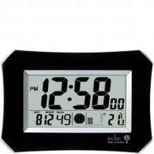 digital office clocks. halo radio controlled digital wall clock 26cm office clocks