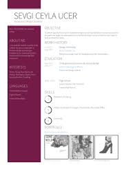 Design Intern Resume Samples - Visualcv Resume Samples Database