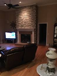 Mood Lighting Living Room Fireplace Facing Adds Atmosphere Creative Faux Panels