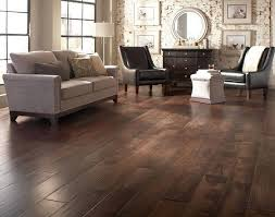 wood floor living room dark with country decor