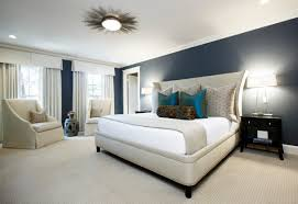 Overhead Bedroom Furniture Bedroom Contemporary Blue Led Overhead Lighting And White Also