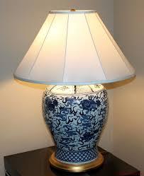 ralph lauren home large foo dog silk shade porcelain lamp ralph lauren lamps