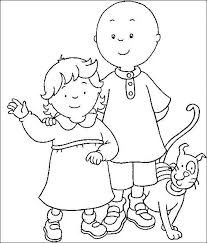 Caillou Coloring Pages Awesome Caillou Coloring Pages 56 Best