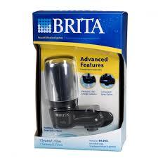 Brita 42633 On Tap Black Chrome Faucet Filtration System