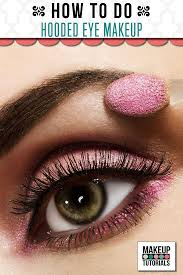 makeup tutorials how to hooded eyes makeup