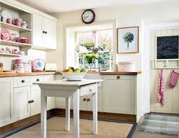 white country cottage kitchen. Vintage Country Cottage Kitchen U Shaped White Maple Wood Cabinets Black Cabinet