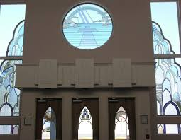 entrance windows stained glass