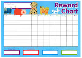 Reward Chart For Kids Daily Activities Loving Printable