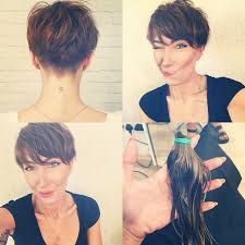 besides Top 25  best Short hair long bangs ideas on Pinterest   Long pixie together with 10 Stylish Heart Shaped Faces Hairstyles further 92 best Short   Spiky For 50  images on Pinterest   Hairstyles also  together with  also 69 best Hair cuts images on Pinterest   Hairstyles  Short hair and likewise  together with Short Spiky Haircuts for Women Over 50   Short Hairstyles for together with 294 best Hairstyles for fine  thin hair images on Pinterest as well . on cute haircuts for women with spiky bangs side view